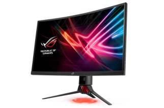 華碩推出ROG Strix XG27V曲面電競螢幕,支援144Hz與AMD FreeSync技術