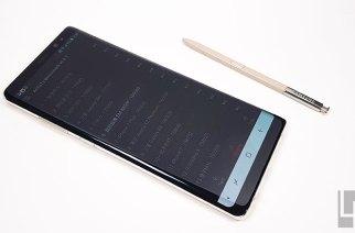 Samsung Galaxy Note 8完整效能、電力測試