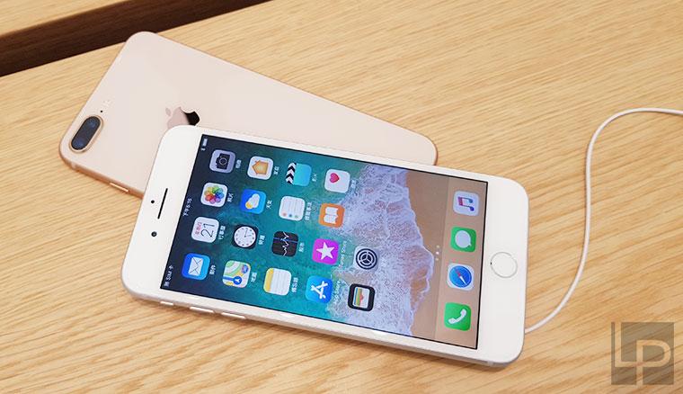 iPhone 8 / 8 Plus開箱動手玩:銀色、太空灰、玫瑰金三色外型圖賞(同場加映Apple Watch 3圖賞)