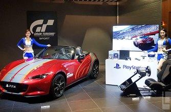 明開賣,跑車浪漫旅競速推出139.8萬超級同捆組,包括一台MAZDA MX-5魂動紅跑車