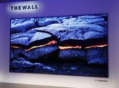 三星發表146吋模組化MicroLED電視,名為「The Wall」 @LPComment 科技生活雜談
