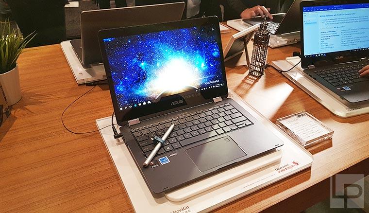 華碩常時連網筆電NovaGo在台上市,中華電信獨推0元資費