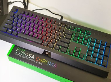 雷蛇入門電競鍵盤RAZER CYNOSA CHROMA簡單開箱 @LPComment 科技生活雜談