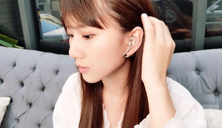 特殊開放式結構與體感操作方式!Sony Xperia Ear Duo真無線藍牙耳機動手玩