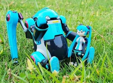 「35 MechatroWeGo初音未來仕樣」機器人公仔開箱,這擺拍的萌度不輸阿楞阿! @LPComment 科技生活雜談