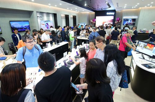 全新面貌的三星體驗館於台北三創開幕!六都商圈重點門市將陸續升級 @LPComment 科技生活雜談