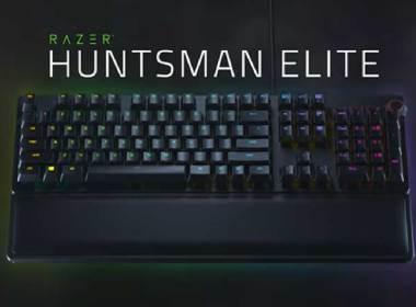 雷蛇推出光觸發設計的紫軸,率先應用於Huntsman、Huntsman Elite機械鍵盤 @LPComment 科技生活雜談