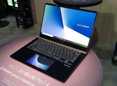 ASUS ZenBook Pro動手玩:創新子母螢幕設計,觸控板同時也是顯示器 @LPComment 科技生活雜談