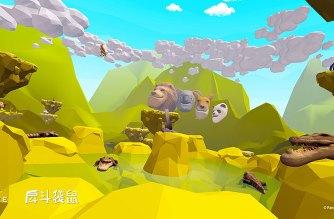 HTC取得《戽斗星球》IP授權,推出VR體動能遊戲《戽斗袋鼠》 @LPComment 科技生活雜談