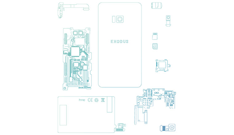 HTC宣布第三季推出首款區塊鏈手機Exodus,即日起開放網路預約體驗