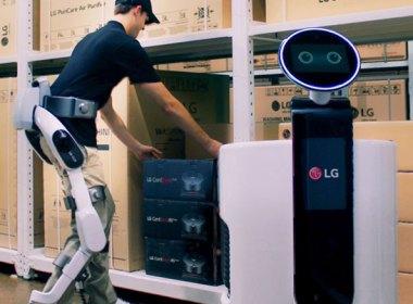 外骨骼+AI:樂金發表穿戴式機器人LG CLOi SuitBot,強調以人為本 @LPComment 科技生活雜談