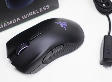 精準、大電力!Razer Mamba Wireless雷蛇曼巴眼鏡蛇無線版電競滑鼠開箱! @LPComment 科技生活雜談