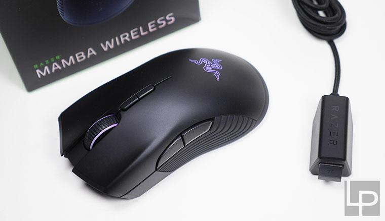 精準、大電力!Razer Mamba Wireless雷蛇曼巴眼鏡蛇無線版電競滑鼠開箱!