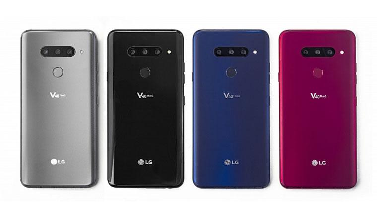 LG V40ThinQ發表:三主鏡頭設計,廣角到望遠全焦段通殺!