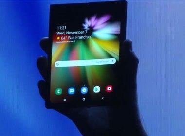 三星展示搭載柔性面板的摺疊螢幕手機!幾乎可完全對折,打開變平板 @LPComment 科技生活雜談
