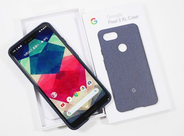 質感很棒的Google Pixel 3 XL的布面保護套(靛藍色)簡單開箱 @LPComment 科技生活雜談