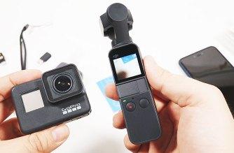 DJI OSMO Pocket開箱!4K60p錄影實測、GoPro Hero7 Black比較 @LPComment 科技生活雜談