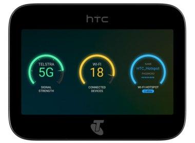 HTC宣布攜手澳洲Telstra電信於2019推出5G mobile smart hub @LPComment 科技生活雜談