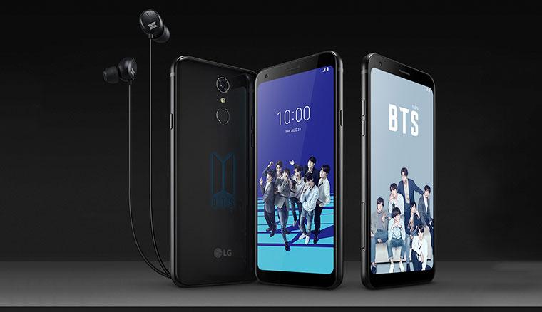 ARMY專屬!LG Q7+BTS Edition防彈少年團特別版預購送BTS專屬好禮