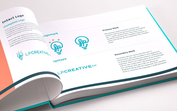 brand style guide book