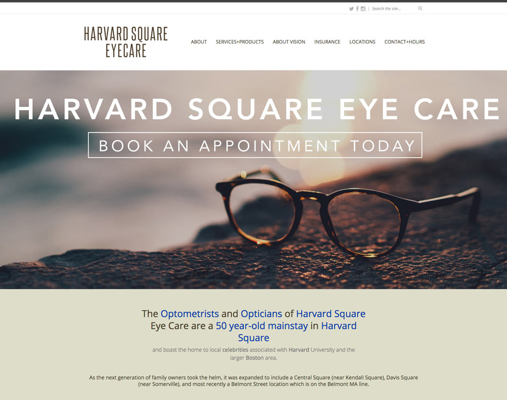 website repair job harvard square cambridge websites danvers