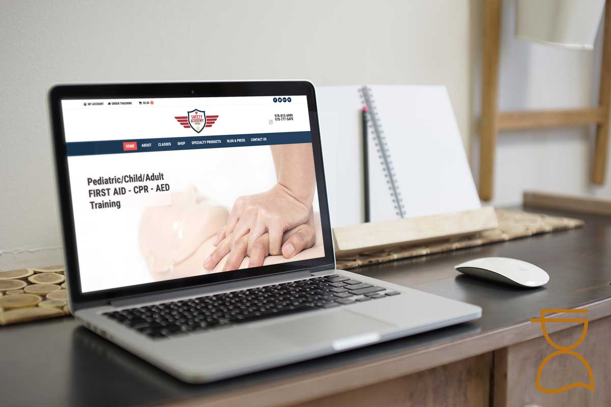 new website for firearms cpr safety training company in danvers ma