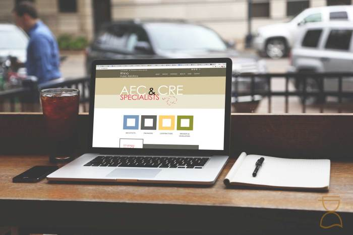 custom website pr firm aec industry lpcs websites