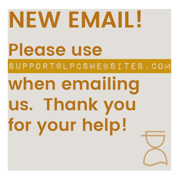 new email address