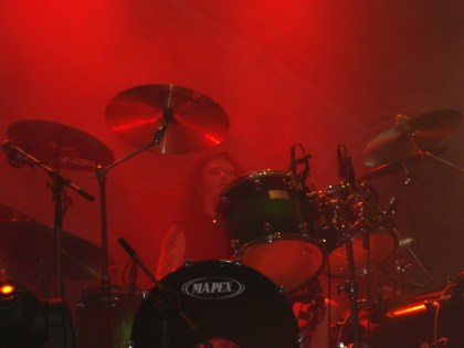 Onstage with Blaze Bayley, Z7, Switzerland