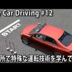 教習所で特殊な運転技術を学んでみた 【 City Car Driving 実況 #12 】[ゲーム実況byアフロマスク]