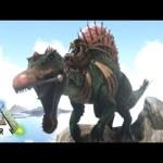 #12【ARK】新能力で超強化!新生スピノサウルスをテイム!【Season4】【RAGNAROK】【ARK Survival Evolved】【公式PVE】[ゲーム実況by月冬]