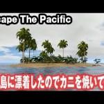 【Escape The Pacific】無人島に漂着したのでカニを焼いてみた【アフロマスク】[ゲーム実況byアフロマスク]