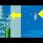 チビマリオで土管に入ると超大ジャンプ ニュースーパーマリオブラザーズ part10[ゲーム実況byしゅうゲームズ]