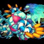 水着ヨグソトースキターーーーーーー 溢れ出すパンツ パズドラ[ゲーム実況byしゅうゲームズ]