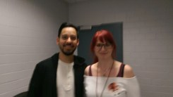 This one turned out blurry, so Mike suggested we take a selfie