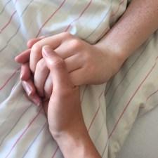 With Raissa in hospital
