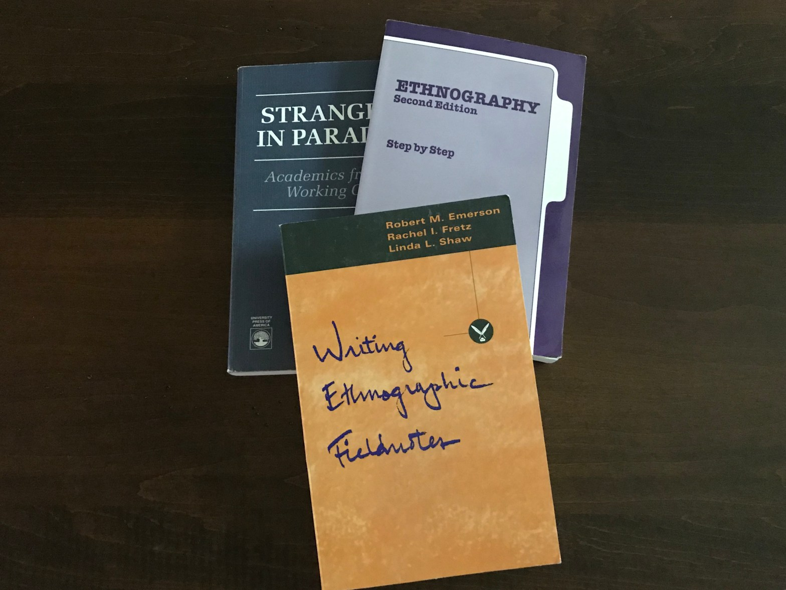 Three books on workplace ethnography