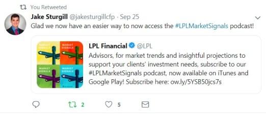 Jake Surgill LPL Tweet