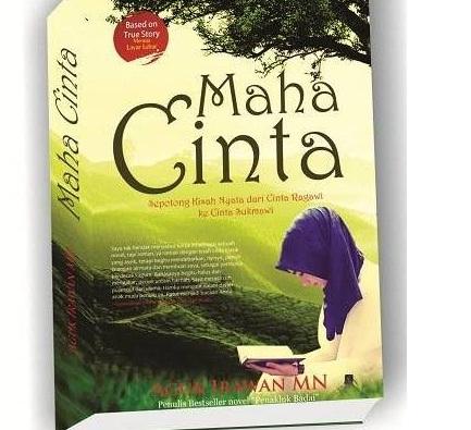 "Cover novel ""Maha Cinta"""