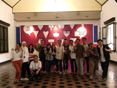 Tim PCMI Yogyakarta dalam acara voluntary day 2015. (Doc. PCMI Yogyakarta).