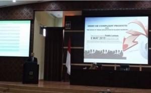 Mahbubi mengisi sebagai Keynote speaker seminar internasional.