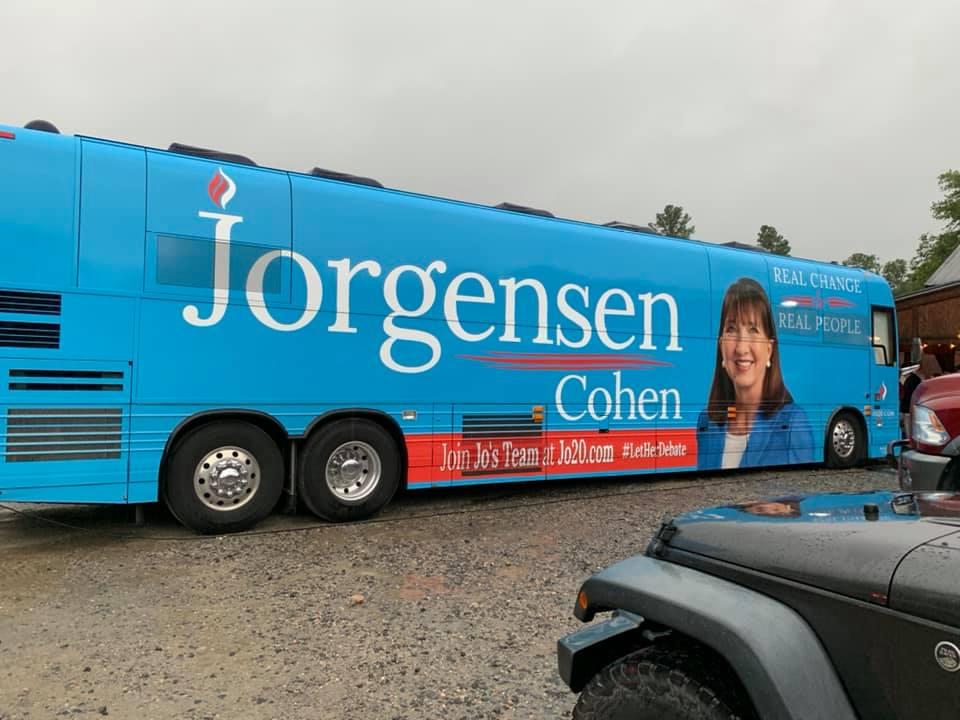 Jorgensen Libertarian Bus Tour