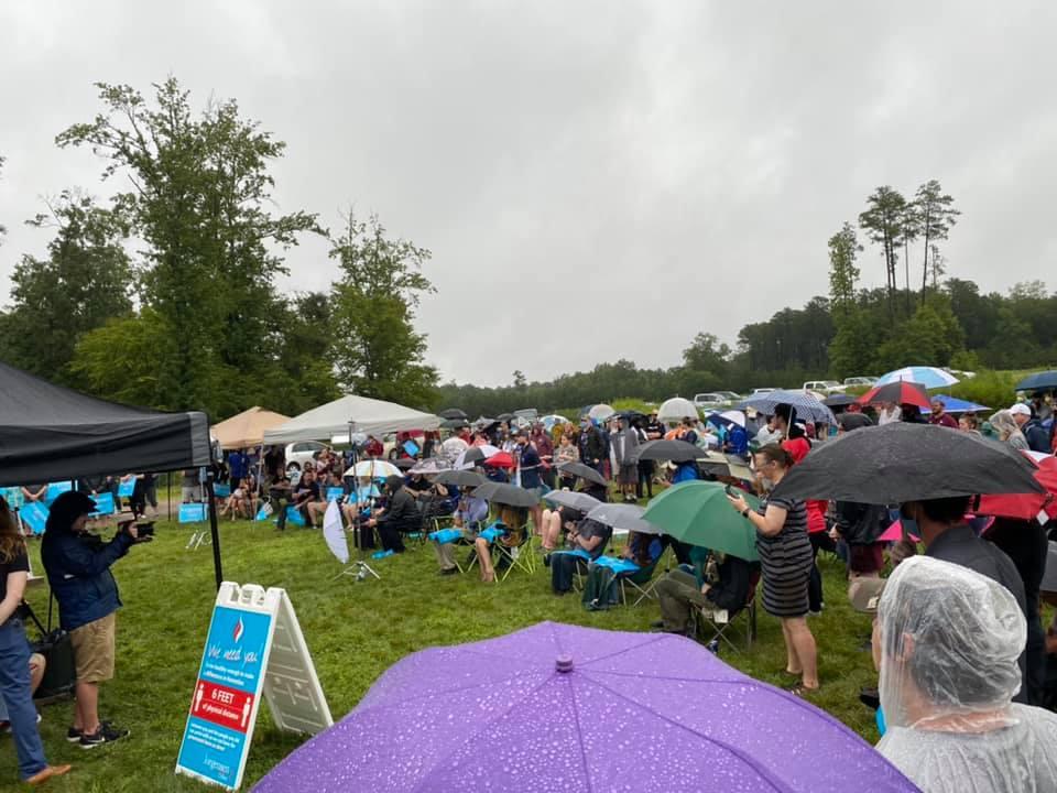 Jorgensen Durham NC Crowd