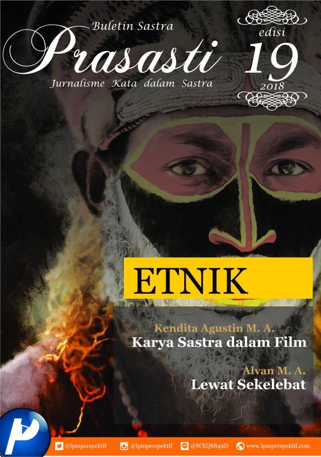 Book Cover: Buletin Prasasti Edisi 19: Etnik