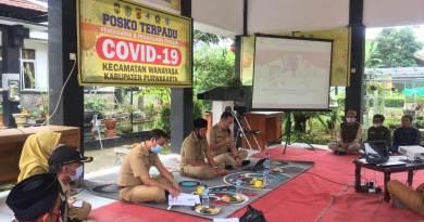 Foto: Sosialisasi Perbup Pilkades di Kantor Kecamatan Wanayasa dan Bojong.