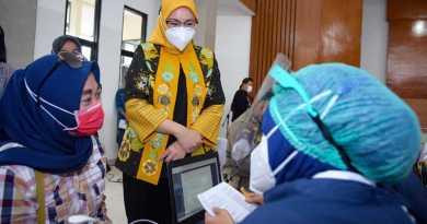 Foto : Monitoring Vaksinasi Covid-19 Tahap Dua