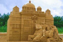 20 Festival des sculptures de sable à Gdańsk (1)