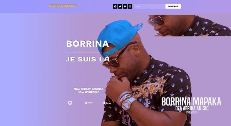 Borrina Mapaka Official site