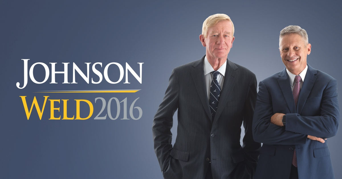 Johnson/Weld Full Page in in NY Times – Let Them in the Debates!