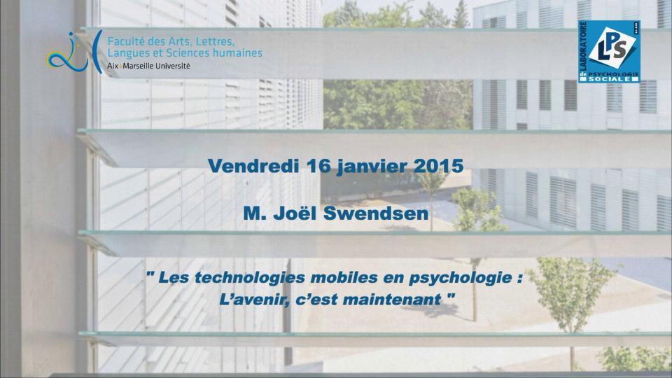 M. Joël Swendsen